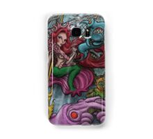 WARRIOR QUEEN OF THE SEA Samsung Galaxy Case/Skin
