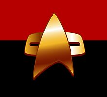Star Trek Combadge by krls