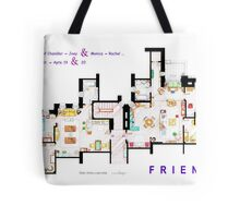 FRIENDS Apartment's Floorplans - V.2 Tote Bag