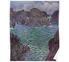 Claude Monet - Port-Goulphar Belle Poster
