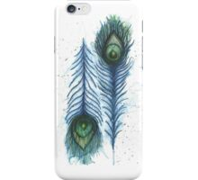 Perspective Feathers  iPhone Case/Skin