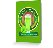 Happy St. Patrick's Day - Green Beer Greeting Card
