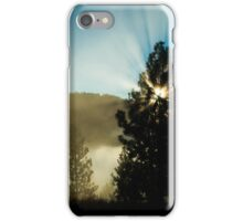 Sun Over Cloud Lake iPhone Case/Skin