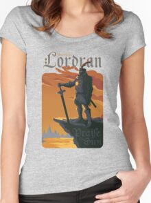 Welcome to Lordran Women's Fitted Scoop T-Shirt