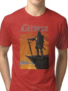 Welcome to Lordran Tri-blend T-Shirt