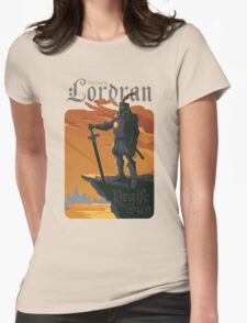 Welcome to Lordran Womens Fitted T-Shirt