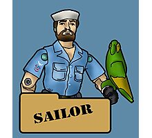 The Quintessential Sailor and his Polly Photographic Print