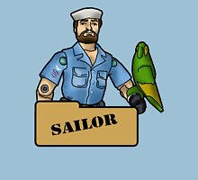 The Quintessential Sailor and his Polly Unisex T-Shirt