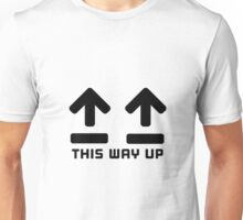 This way up adult humour Unisex T-Shirt