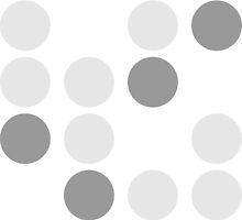 Molecule  Merchendise Series - Dot Pattern by Benjamin Sullivan