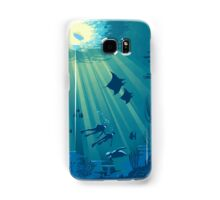 Deep Blue Samsung Galaxy Case/Skin