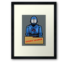 Possibly the Most Dangerous Toy Alive Framed Print