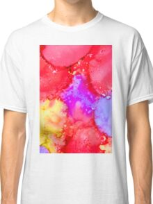 Abstract Bright Ink Art Classic T-Shirt