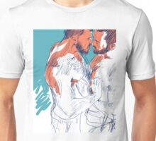 Almost a kiss Unisex T-Shirt