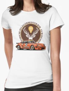Porsche 934 RSR Jagermeister Womens Fitted T-Shirt