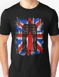 Tenth Doctor UK Flag T-Shirt