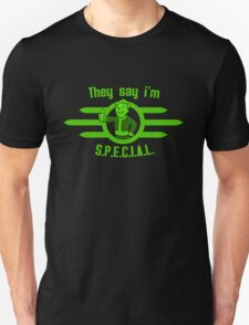 They Say I'm Special! - Fallout T-Shirt