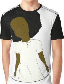 "African American Girl from the ""Five Birds on a Wire"" book (Kids & Baby Tees+Onesies) Graphic T-Shirt"