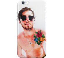 Luke + flowers iPhone Case/Skin