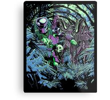 Welcome to the jungle. (neon) Metal Print