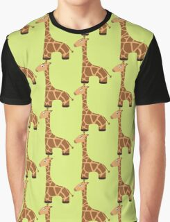 Cute cartoon giraffe Graphic T-Shirt