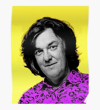 Top Gear Inspired Pop Art James May Poster