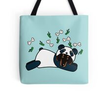 Dog in panda disguise #redbubbleartparty Tote Bag