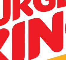 Burger King Logo Sticker