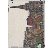 Scotland - Edinburgh, roofs and chimneys iPad Case/Skin
