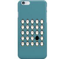 Penguin colony  iPhone Case/Skin
