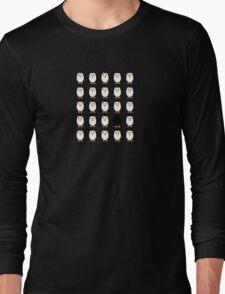 Penguin colony  Long Sleeve T-Shirt