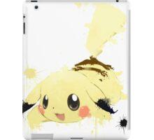 Pikachu Splatter iPad Case/Skin