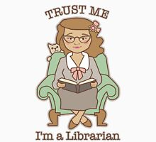 Trust Me I'm a Librarian Womens Fitted T-Shirt