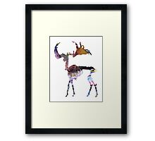 Irish Elk Framed Print