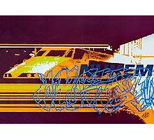 Transparent Nukem Photographic Print