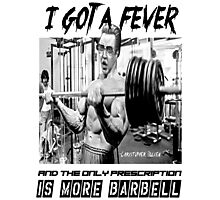 Christopher Bulken - More Barbell Photographic Print