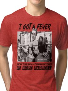 Christopher Bulken - More Barbell Tri-blend T-Shirt