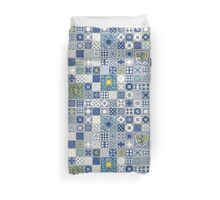 Traditional Ceramic Vintage Duvet Cover