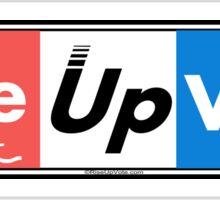 RiseUpVote.com3 Sticker