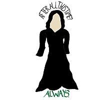 Severus Snape - Always. Photographic Print