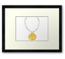 Dunder Mifflin Office Olympics- Gold Medal Framed Print