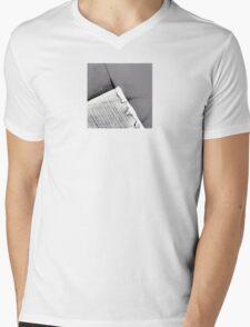 Light Brush  Mens V-Neck T-Shirt
