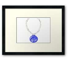 Dunder Mifflin Office Olympics-Bronze Medal Framed Print