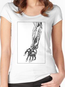 Arm Robot Women's Fitted Scoop T-Shirt
