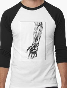 Arm Robot Men's Baseball ¾ T-Shirt
