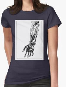 Arm Robot Womens Fitted T-Shirt