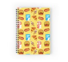 Junk Food Palooza  Spiral Notebook