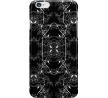Black and White Abstract Mosiac Pattern iPhone Case/Skin