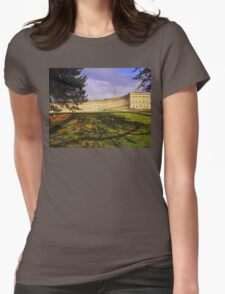 Royal Crescent, Bath Womens Fitted T-Shirt