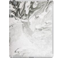 Abstract Back and White Painting iPad Case/Skin